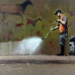 banksy wall remove street art