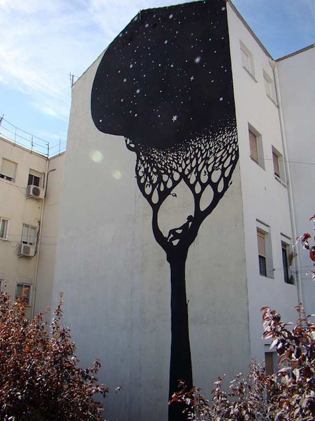 "Top Rated Street Art - ""Perfect; fits beautifully into the surroundings. Way to make something magical :)"""