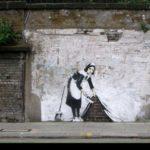 banksy street art cleaner hide