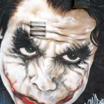 joker heath ledger street art