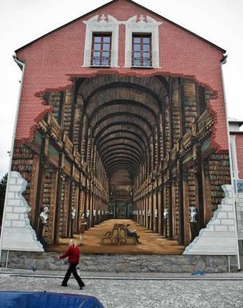 Street art utopia we declare the world as our canvas for 3d street painting mural art