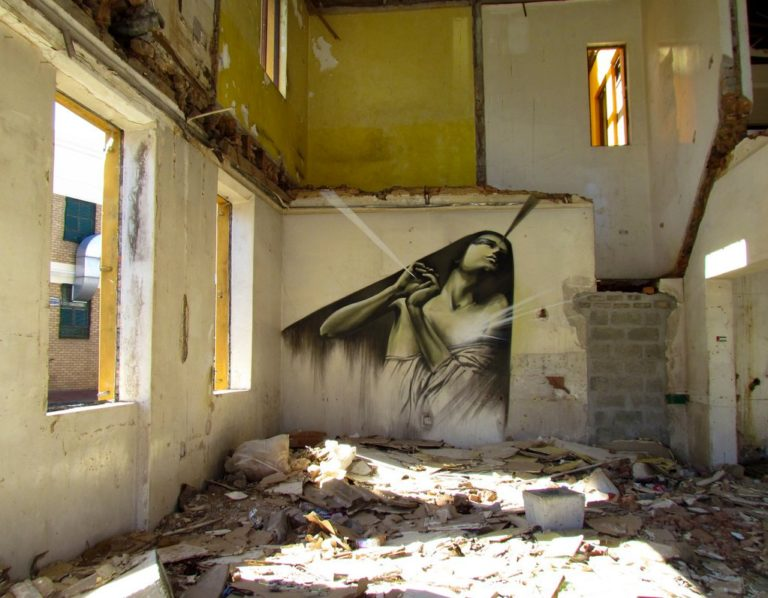 Faith47 – Urban exploration & breathtaking Street Art