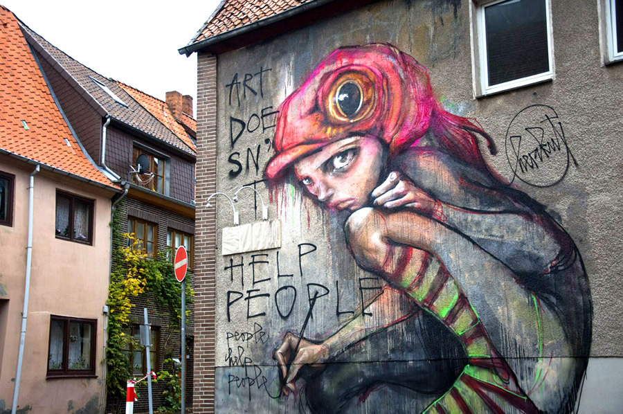 Street Art by Herakut - A Collection part 1