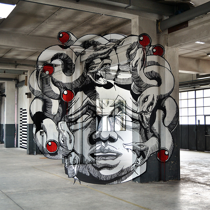 street_art_2d_TrulyDesign_Medusa_Anamorph_ninja1_mach505_1