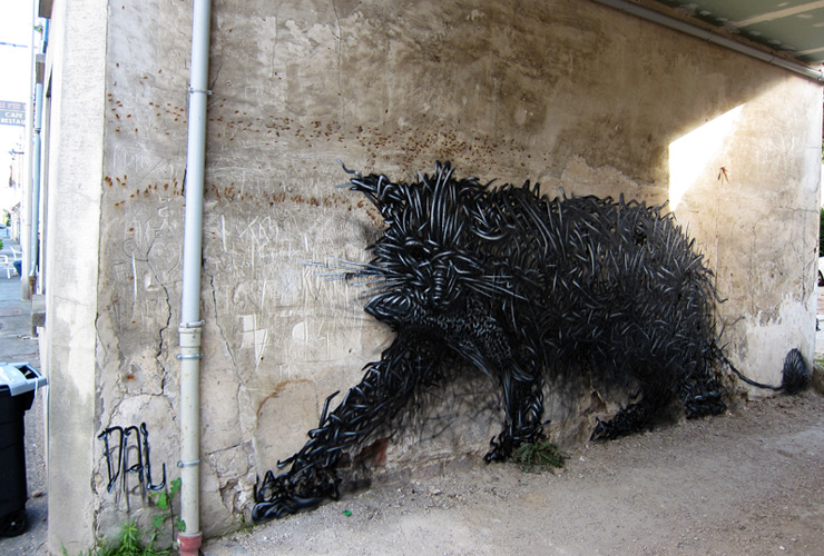Street Art by DALeast – A Collection
