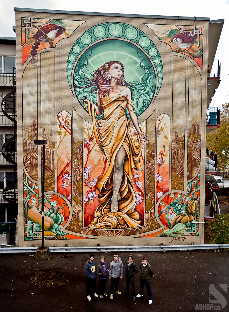 Street art utopia we declare the world as our canvas for Art mural painting