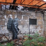 "DAL ""No Surrender"" In Paris, France street art"