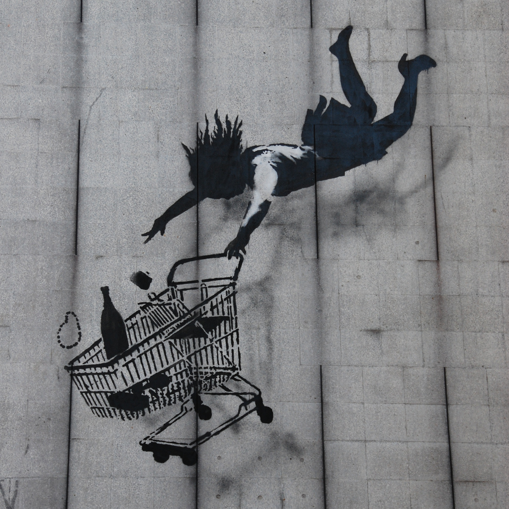street_art_banksy Shop till you drop 1