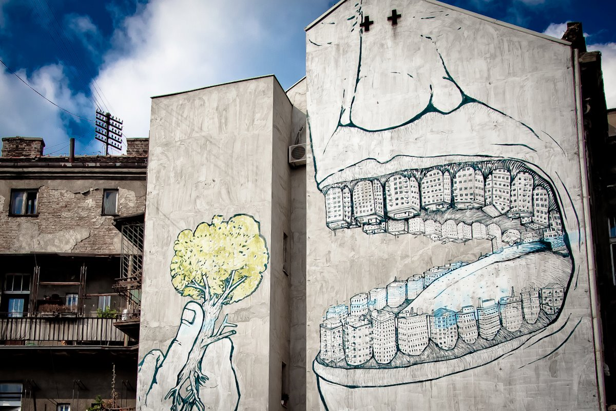 Attractif Street Art Utopia » We declare the world as our canvas » Street  YR78
