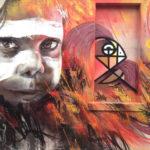 street art In Fitzroy, Melbourne, Australia