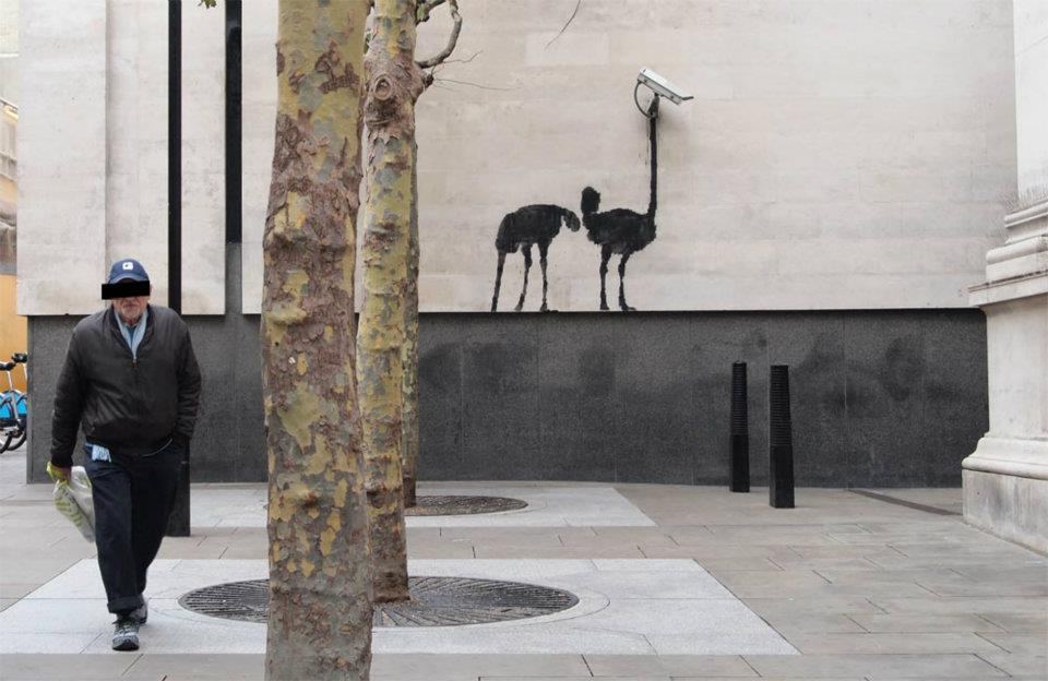 New Street Art by Banksy - In London, England