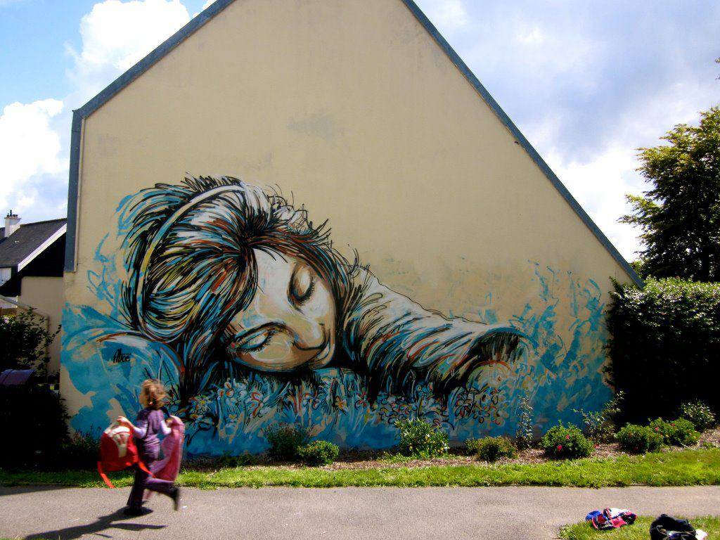 Extrêmement Street Art Utopia » We declare the world as our canvas » Street  BK92
