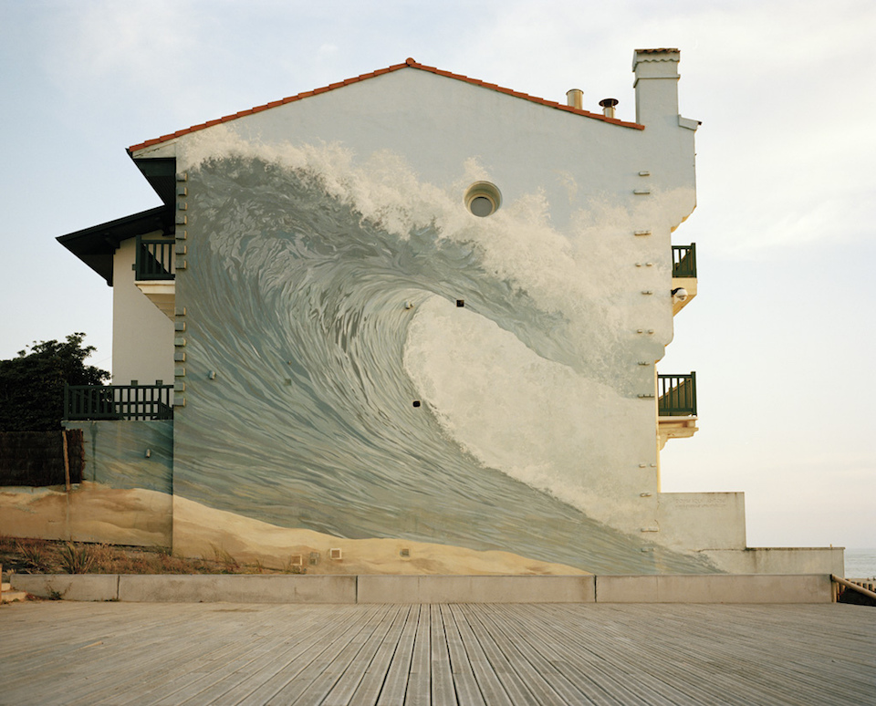 Street Art in In Hossegor Beaches Landes South West of France