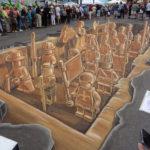 street art 3d leon keer, ruben poncia, remko van schaik and peter westerink