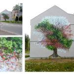 street art zone 4 jahreszeiten baum by zone
