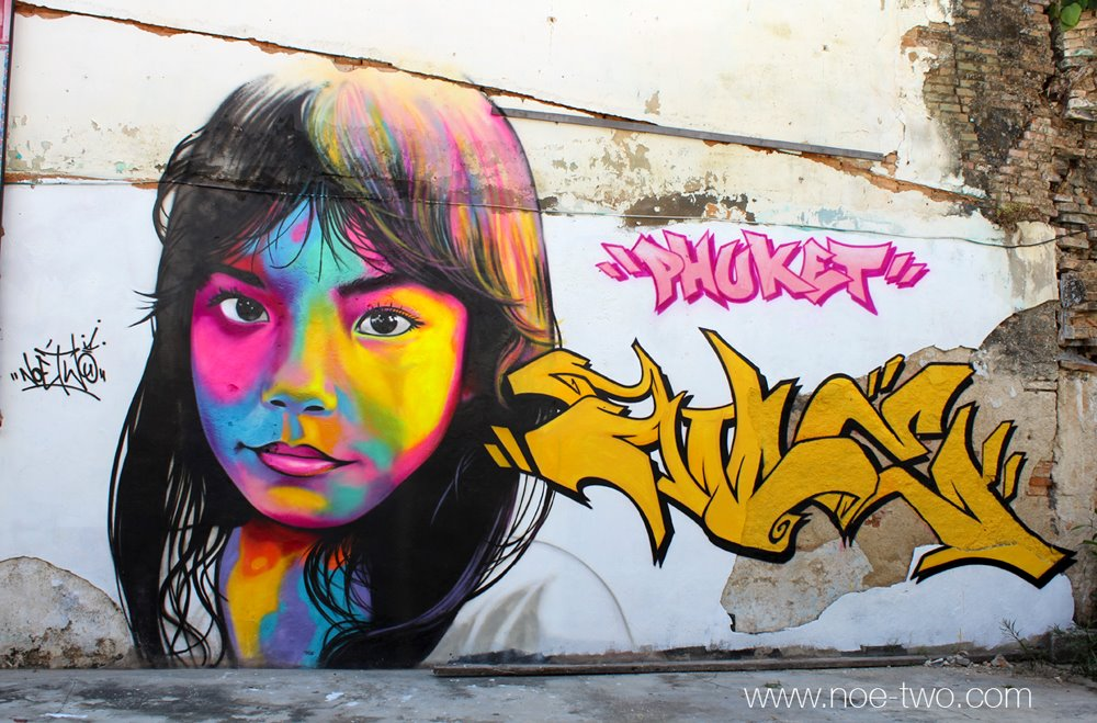 street art utopia we declare the world as our canvas by noe two