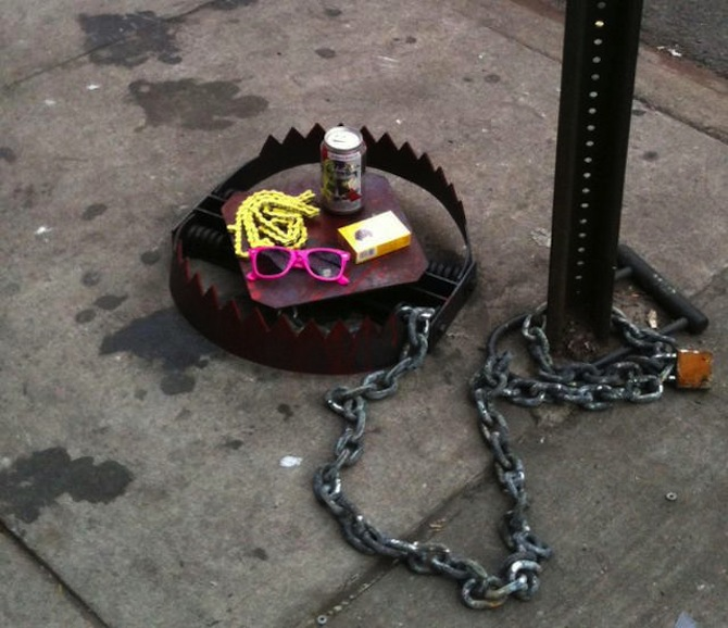 Hipster Trap - In New York, USA
