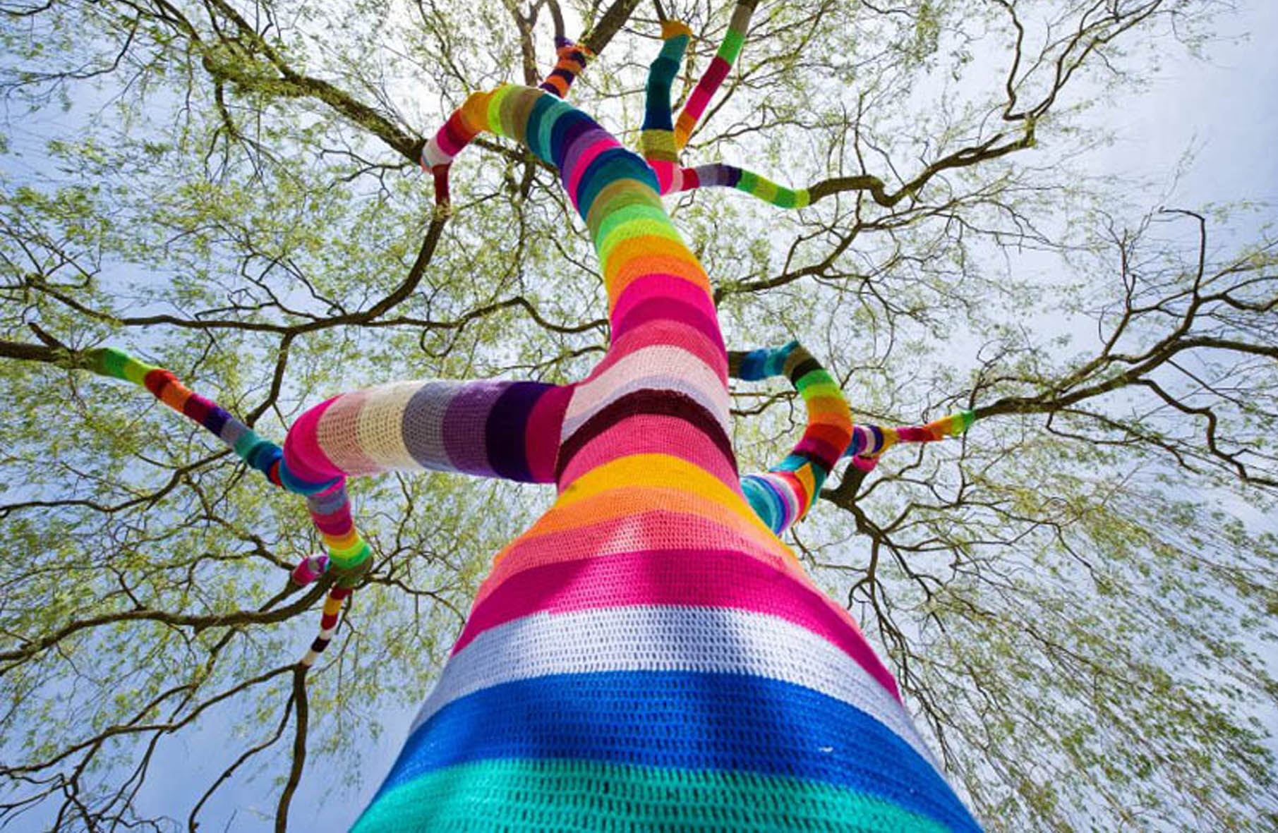 Yarn Bombing - By B-Arbeiten