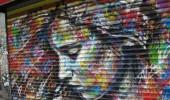 David Walker in SOHO in New York