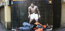 Paris Rue Saint Denis Street Fighter Muhammad Ali
