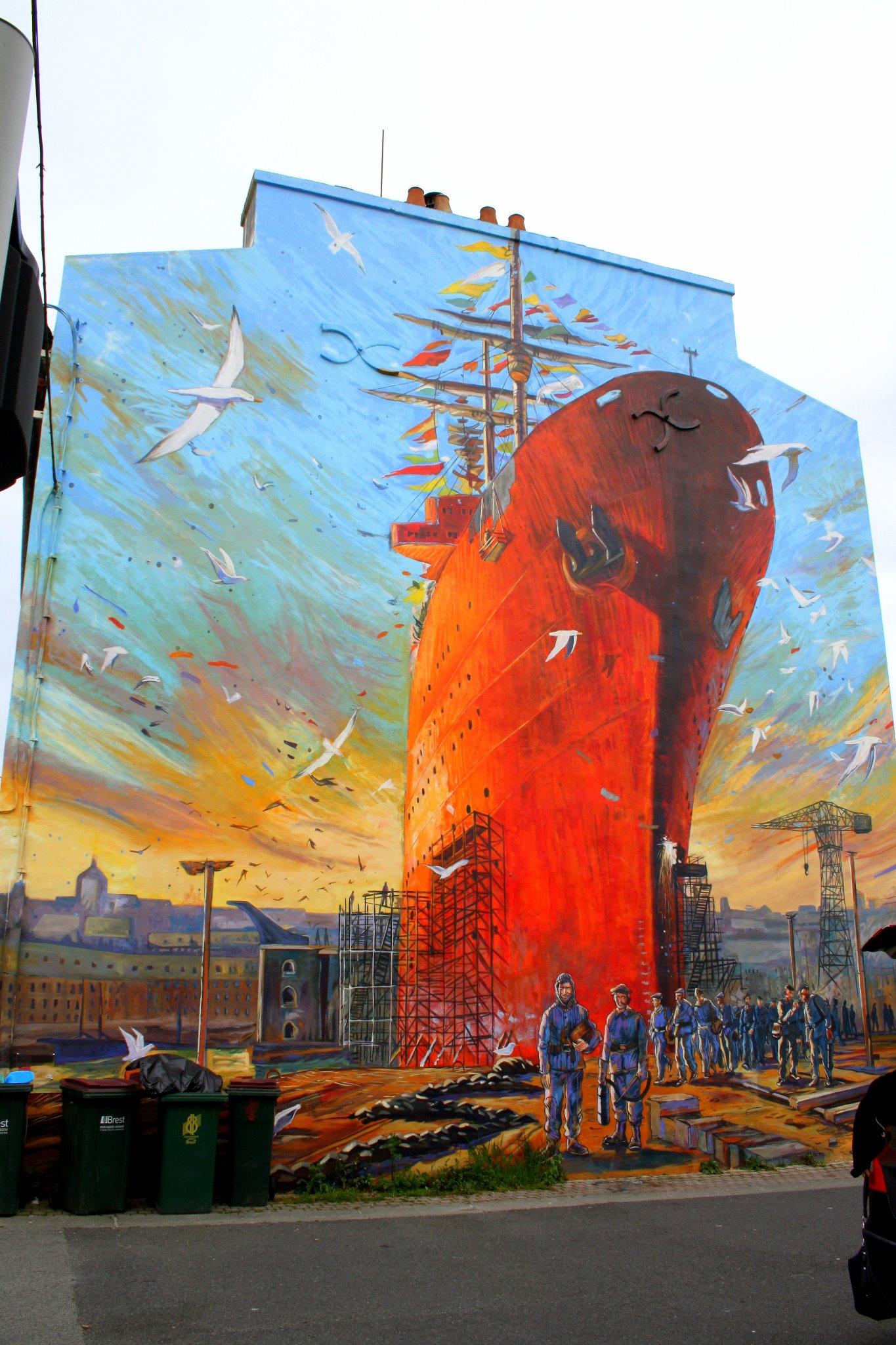Street Art from Brest, France