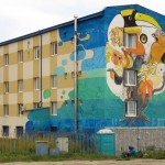 street art Sofia, Bulgaria by 140ideas,1010, Tika, Jens Besser and Xpome