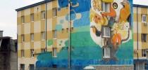 street art Sofia, Bulgaria by 140ideas,1010, Tika, Jens Besser and Xpome