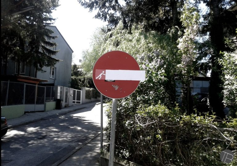 Street Art by Tobias Batik in Vienna, Austria