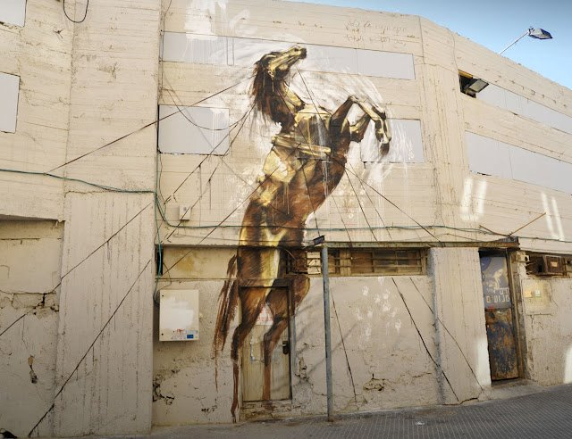 Street Art by Faith47 – In Tel Aviv