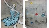 street art by ibon mainar In Basque Country, San Sebastian, Spain