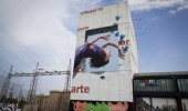 Ateneu Popular 9 Barris Cultura Inquieta street art by Roc Blackblock