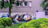 Street Art by Alice in Vitry sur Seine, France 2