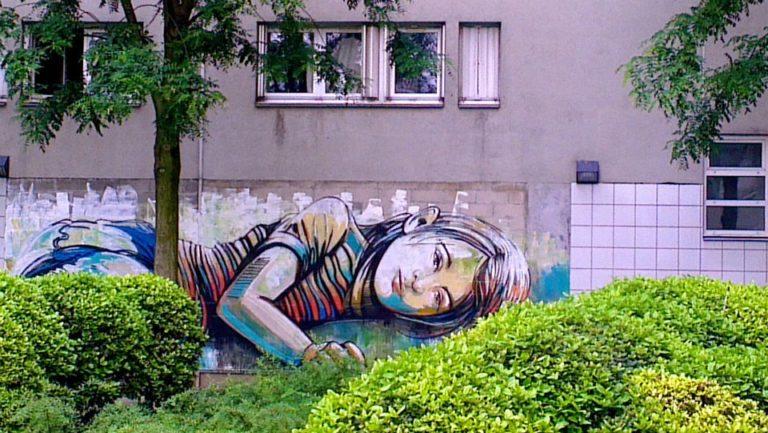 Street Art by Alice in Vitry sur Seine, France