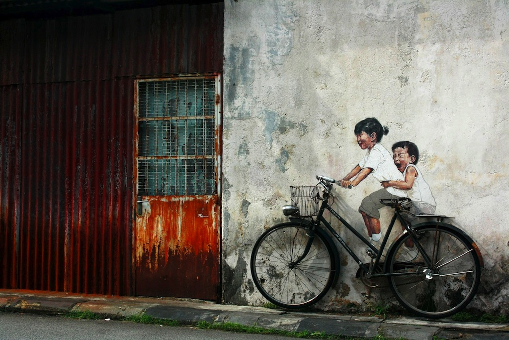 Bicycle - In Penang, Malaysia