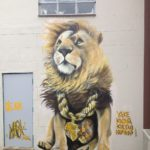 Street Art by Louis Masai in Bristol, UK
