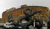 Street Art by ROA in Mexico City