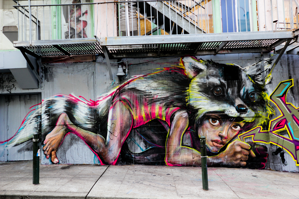 Haut Street Art Utopia » We declare the world as our canvas » By  MH25