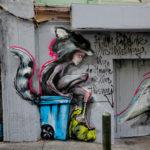 street art by herakut in francisco bay area, california, usa 2