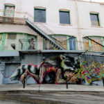 street art by herakut in francisco bay area, california, usa 3