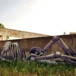 street art graffiti by Aryz