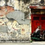 Street Art by Ernest Zacharevic in Penang, Malaysia 1