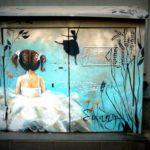 Street Art by Sunny in Sofia, Bulgaria