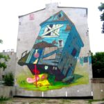 ETAM CREW URBAN FORMS wall # 17, Lodz, Poland a