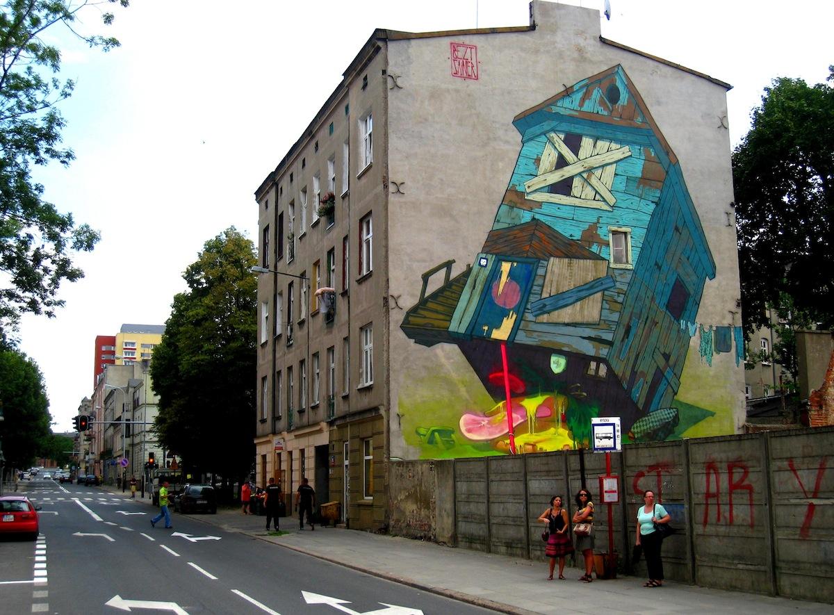 Lodz Poland Urban Art Pinterest