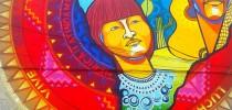 Street Art Museo a Cielo Abierto in Chile, Santiago, San Miguel 1a