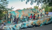 Street Art by Alice Pasquini In Barile, Potenza, Italy on Cantinando 2012