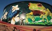 Street Art by Garth Jankovic in Townsville, North Queensland, Australia