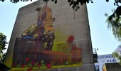 Street Art by Sainer  from Etam on festival Traffic Design in Gdynia, Poland