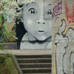 Street Art in Basel, Switzerland i Basel, Switzerland