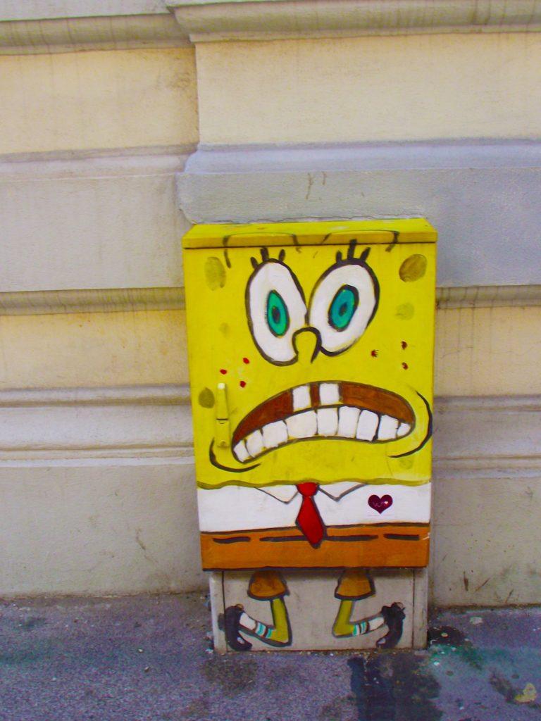 SpongeBob in Vienna Austria
